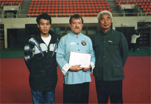 Allan with Li Shi Ying and Professor Mun