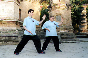 Instructors in Shaolin